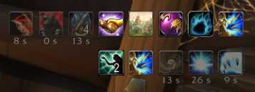 Rotation: Procs to the left of the minimap in World of Warcraft