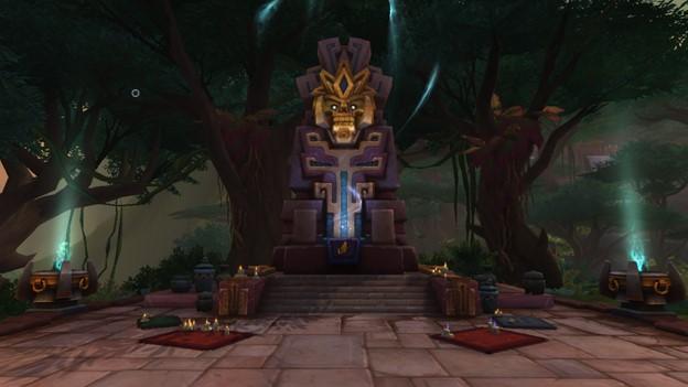 Image of Bwonsamdi's loa shrine