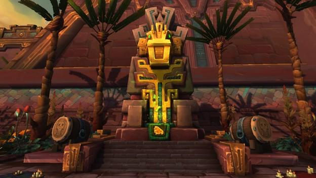 Image of Kragwa's loa shrine