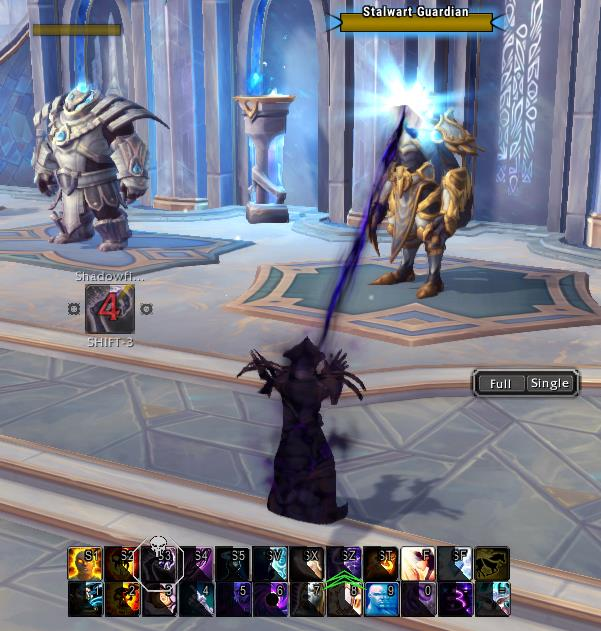 Screenshot of my Shadow Priest named Shadowoak doing work. First posted on Arcaneintellect.com not on legitgaming.games.