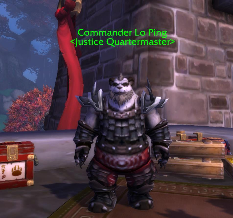 Commander Lo Ping in World of Warcraft