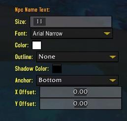 Enemy text name options in Plater