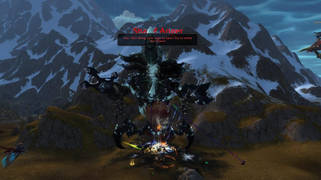 Combat with the Sha of Anger who drops the Heavenly Onyx Cloud Serpent Mount.