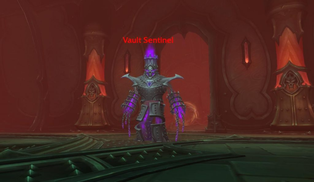 Vault Sentinel boss from the Adamant Vaults Torghast in World of Warcraft.